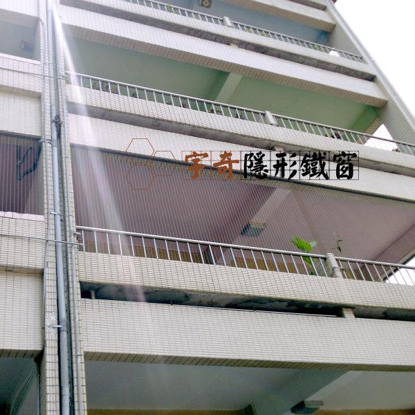 新北板橋文聖國小 – 設置隱形鐵窗作為兒童防墜措施